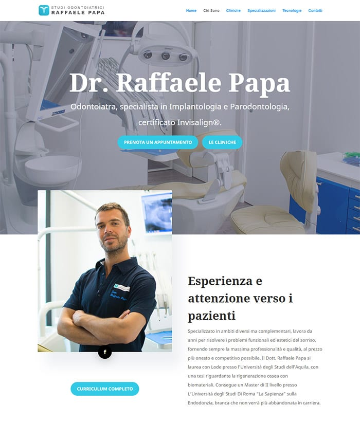 Gestione Pagine Social Facebook Studio Dentistico - Marketing Therapy