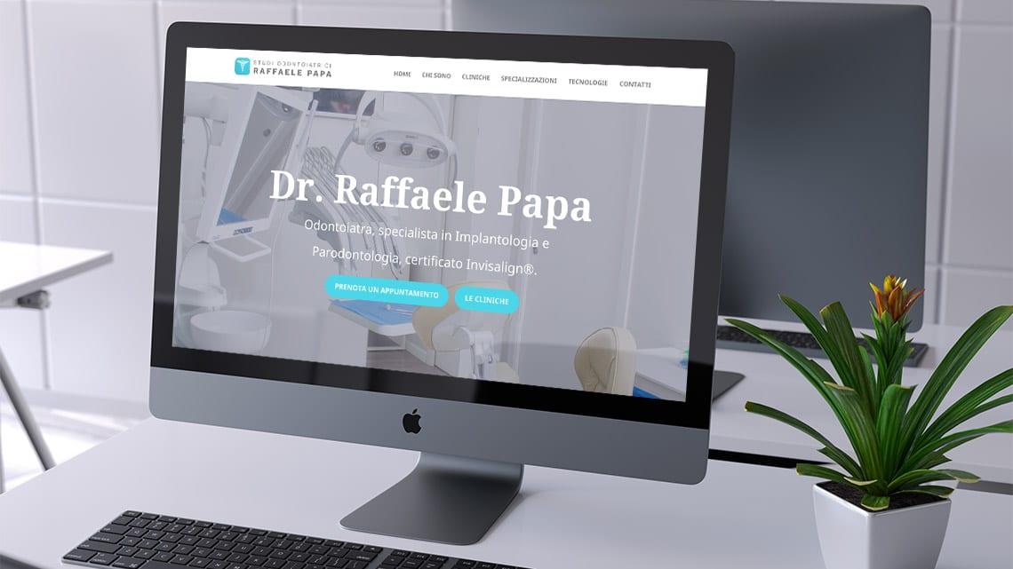 sito-web-per-dentisti-raffaele-papa
